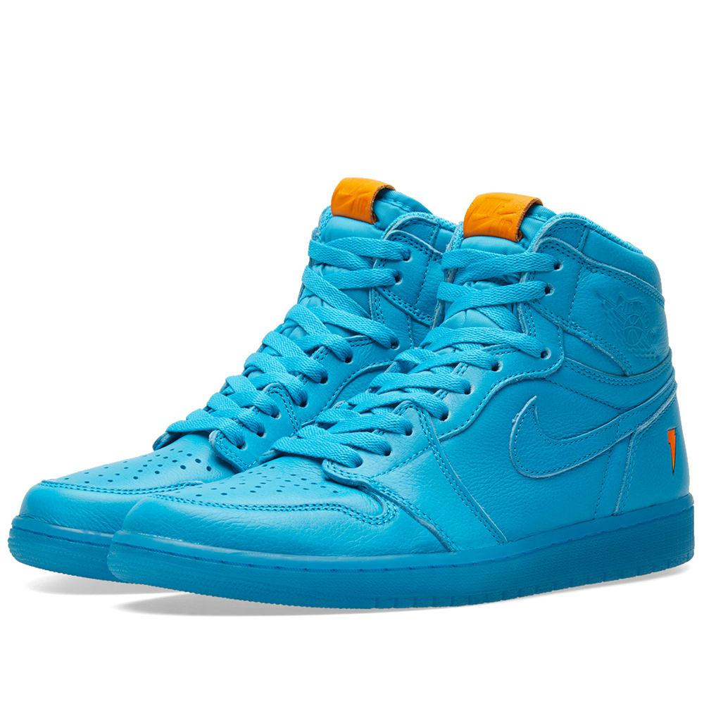Lyst - Nike Nike Air Jordan 1 Retro Og  gatorade  in Blue for Men 910621092