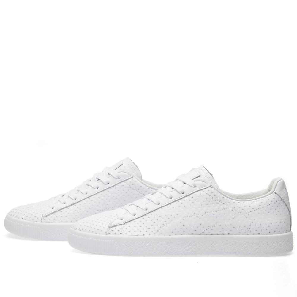 5871fa9e7d8 PUMA - White X Trapstar Clyde Perforated for Men - Lyst. View fullscreen