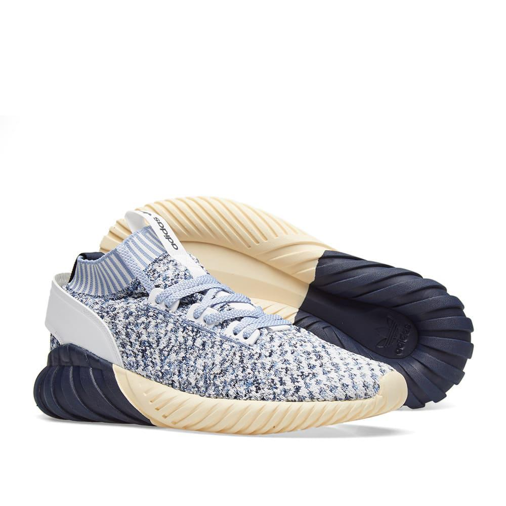 best service 592fa 62d04 Lyst - adidas Tubular Doom Sock Pk in Blue