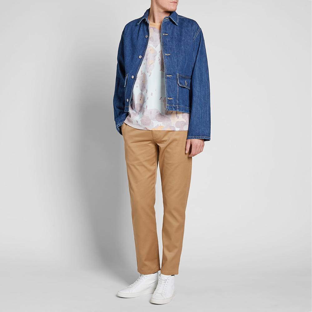 Our Legacy Waist Jean Jacket In Blue For Men Lyst