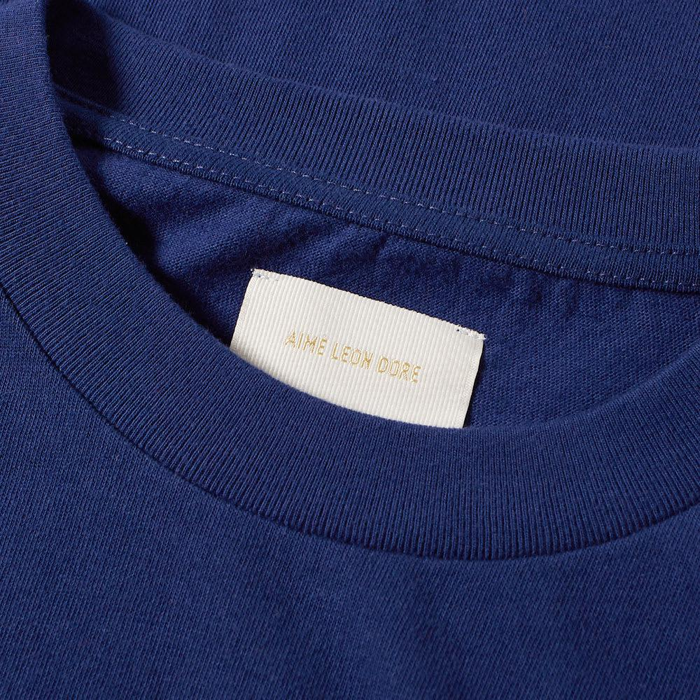 dcd4db597f2c5 Aimé Leon Dore - Blue Long Sleeve Tee for Men - Lyst. View fullscreen