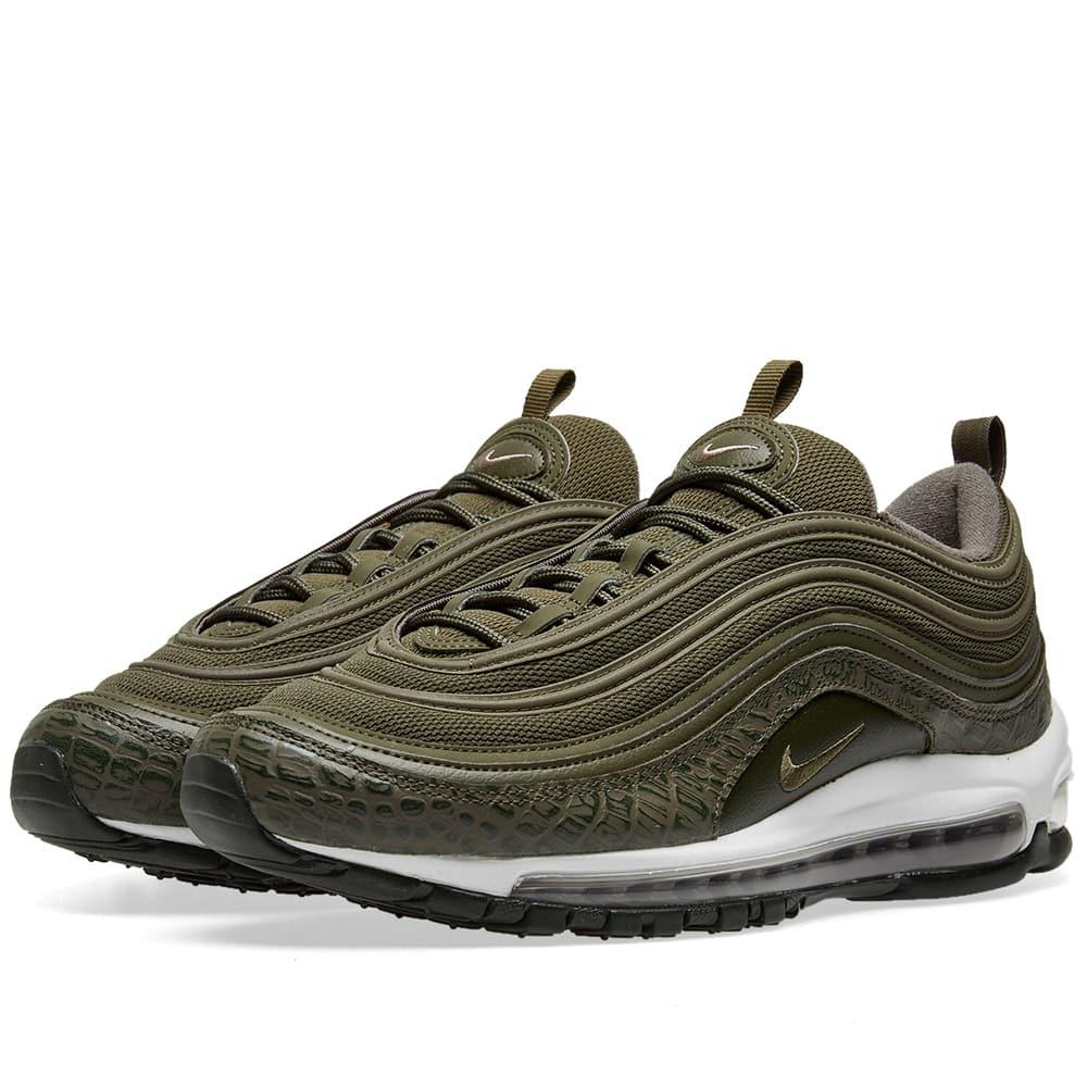 competitive price 021b6 6160e Nike. Womens Air Max 97 Lx Green Trainers