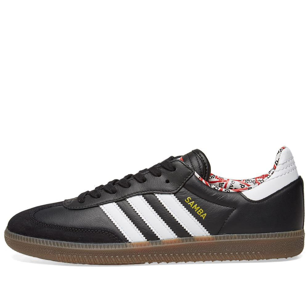 dc37494fd2e4 Lyst - adidas Originals Adidas X Have A Good Time Samba in Black for Men