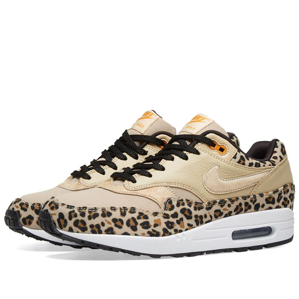 353d77dafd Nike Air Max 1 Premium W 'animal Pack' in Brown - Lyst