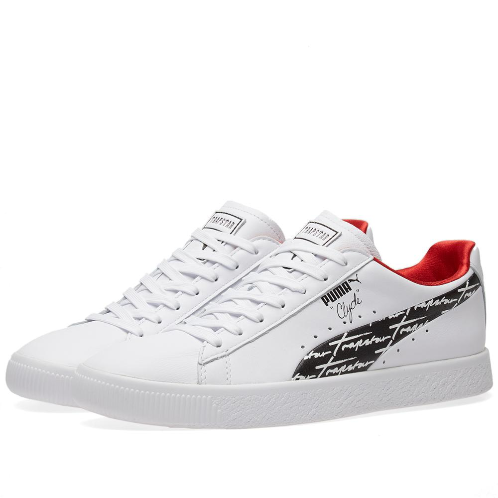 7bc4642988c Lyst - Puma X Trapstar Clyde in White for Men