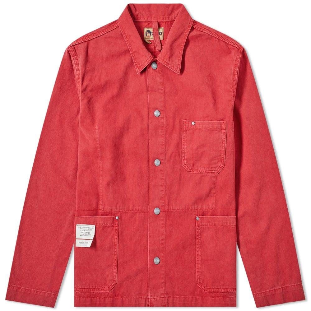 bc6a801c2b11 Lyst - Nigel Cabourn X Lybro Field Jacket in Red for Men