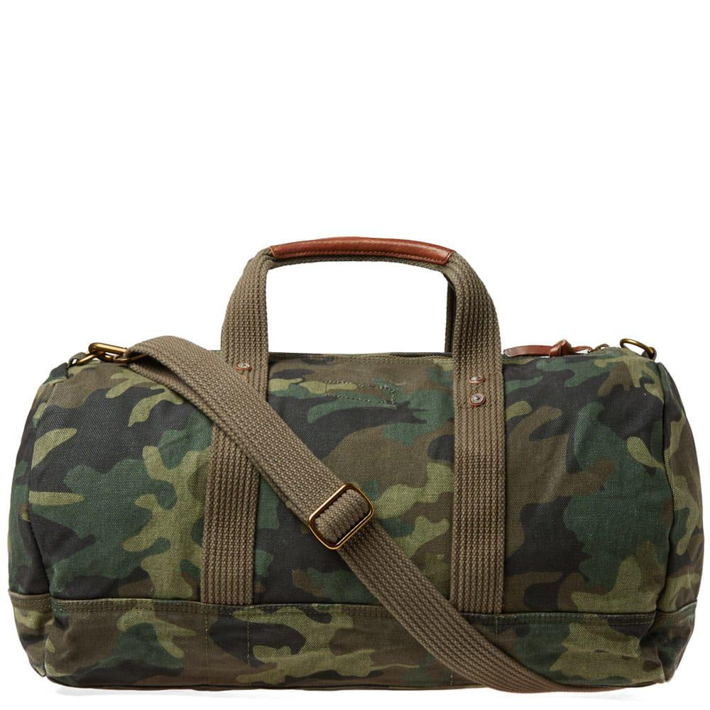 ed6b818b07f7 ... wholesale polo ralph lauren polo player canvas duffle bag in green for men  lyst a043b e3823 ...