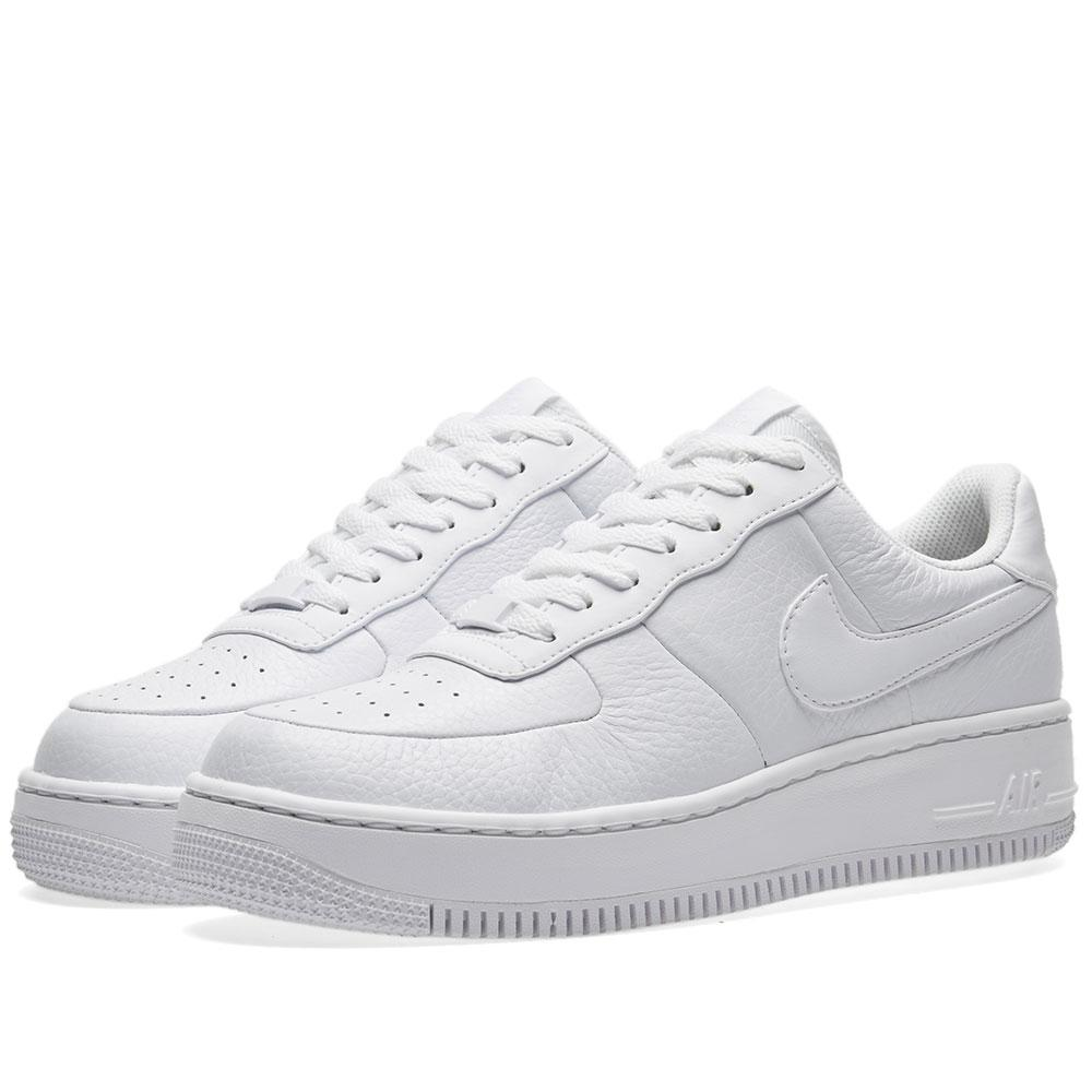 lyst nike air force 1 upstep w in white. Black Bedroom Furniture Sets. Home Design Ideas