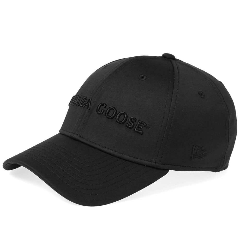 e2021435fcc Canada Goose Tech Baseball Cap in Black for Men - Lyst