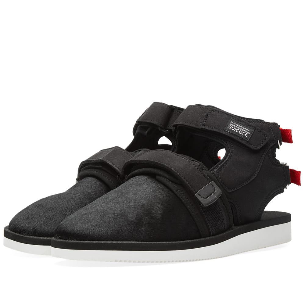 5a064de76943 John Elliott X Suicoke Sandals in Black for Men - Save 49% - Lyst