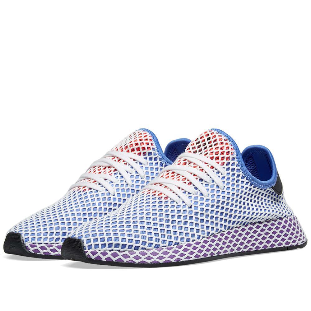 3841e9f6b adidas Deerupt Runner W in Purple - Lyst