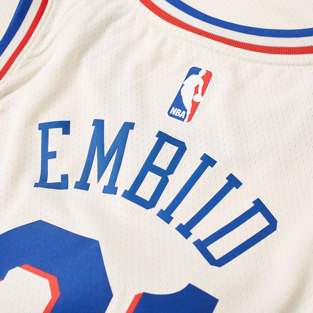 dc6a920ce95 Nike Joel Embiid City Edition Swingman in Blue for Men - Lyst