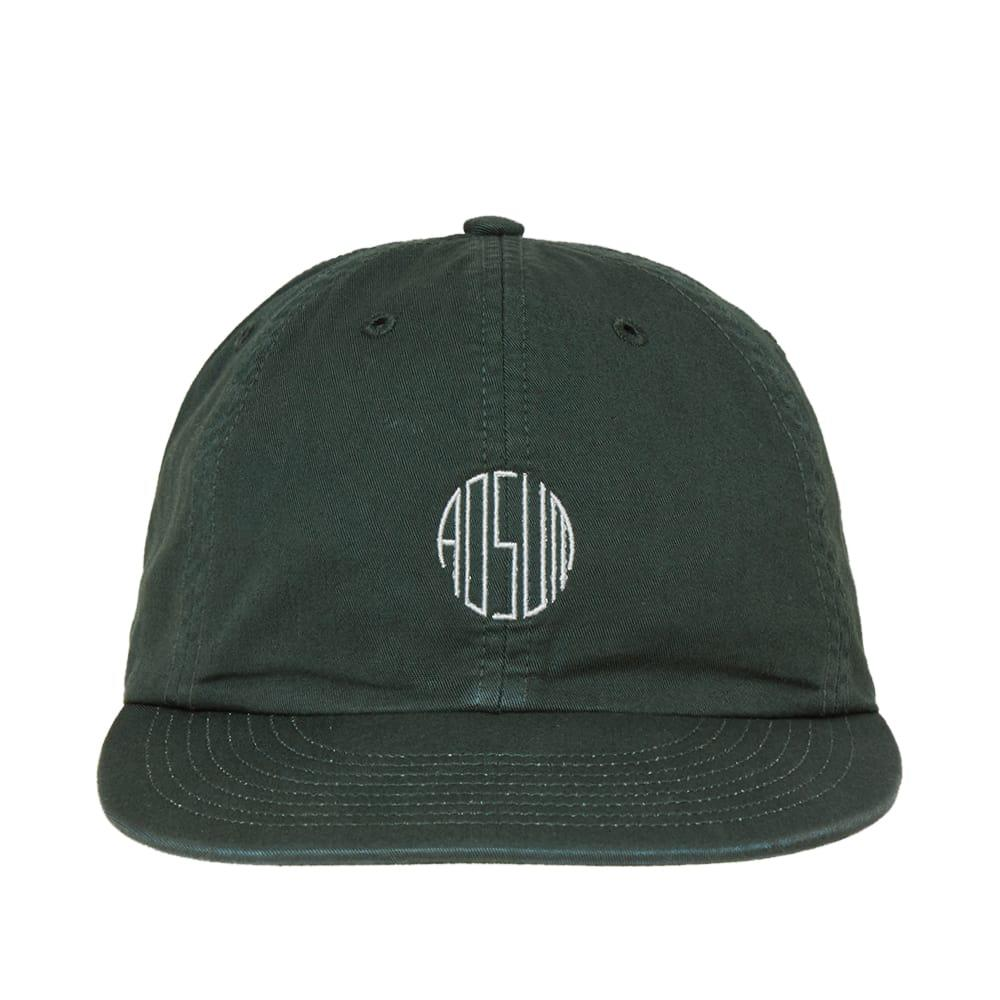 Adsum Overdyed Twill Cap in Green for Men - Lyst 260938f74c3a