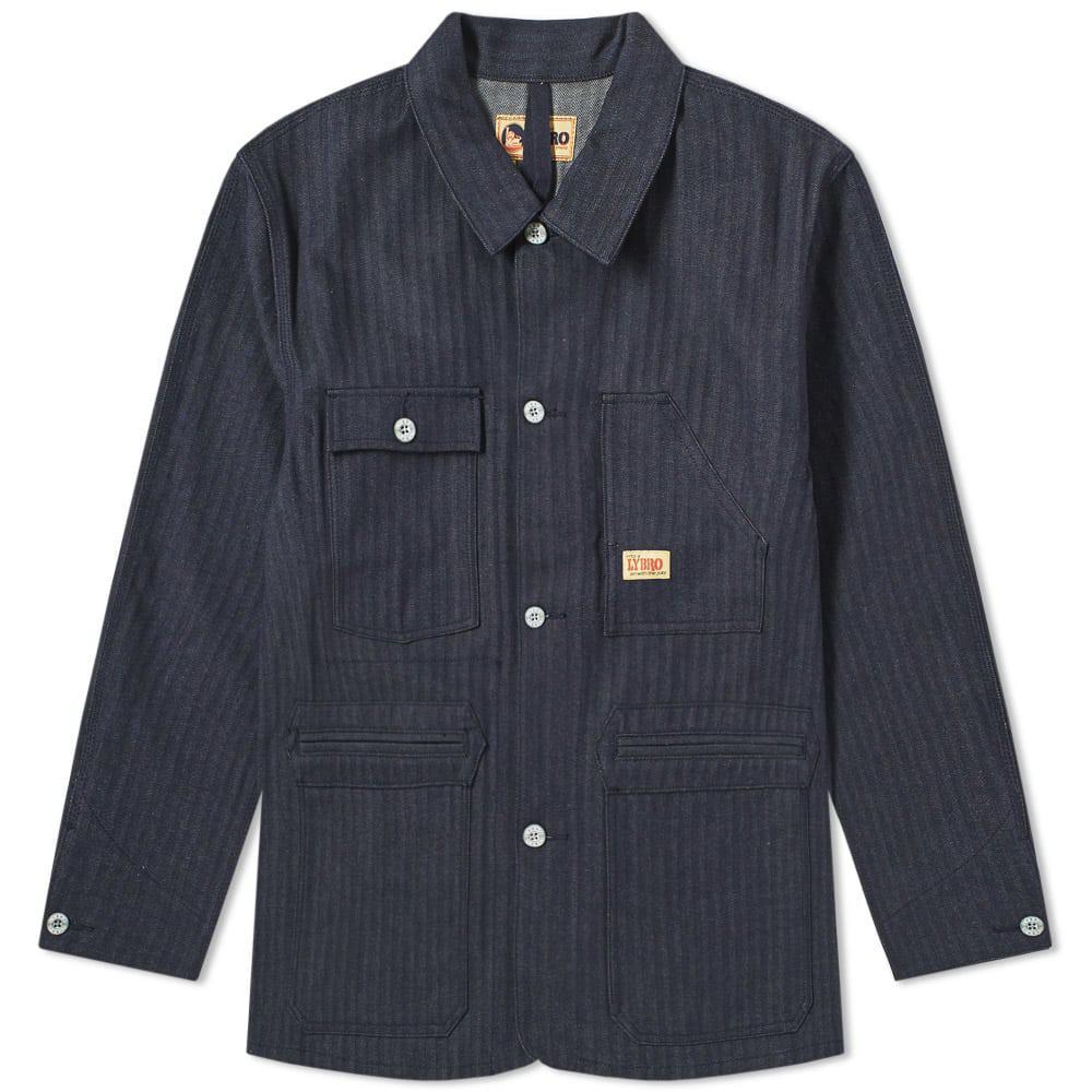 978254532240 Nigel Cabourn X Lybro Work Jacket in Blue for Men - Lyst