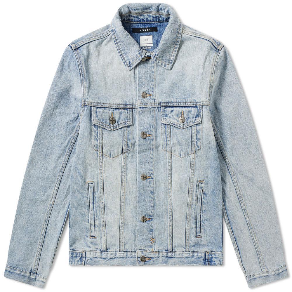 7287b19650 Lyst - Ksubi Classic Karma Denim Jacket in Blue for Men