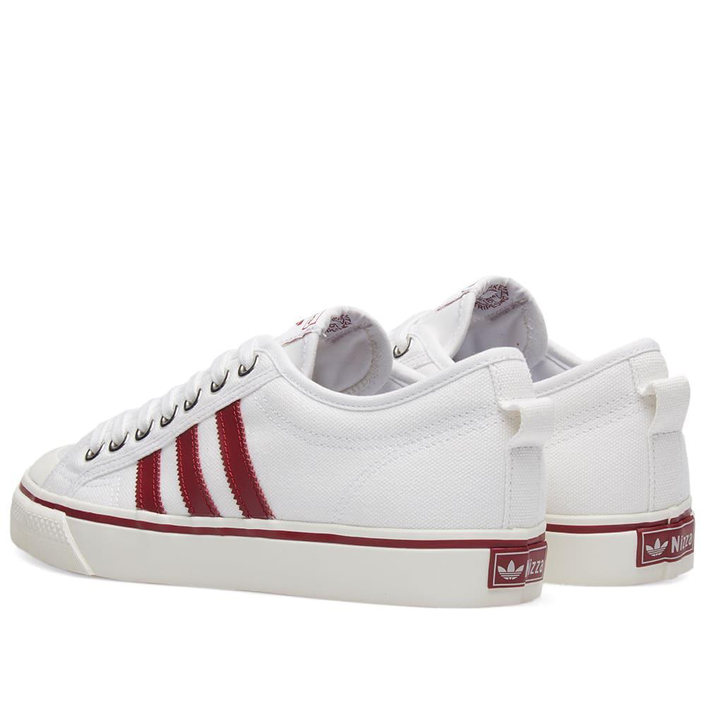 2bba3f5155dba5 adidas Nizza in White for Men - Lyst