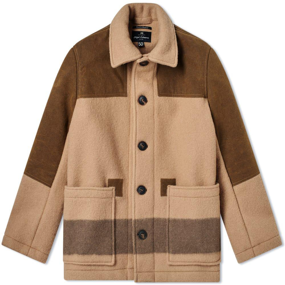 c2282a42c1ce4d Lyst - Nigel Cabourn Donkey Jacket in Brown for Men