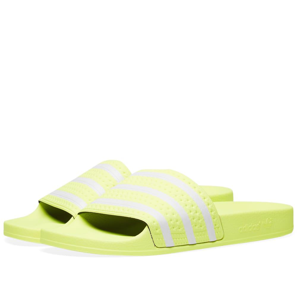 3ad56200b Lyst - adidas Adilette in Yellow for Men