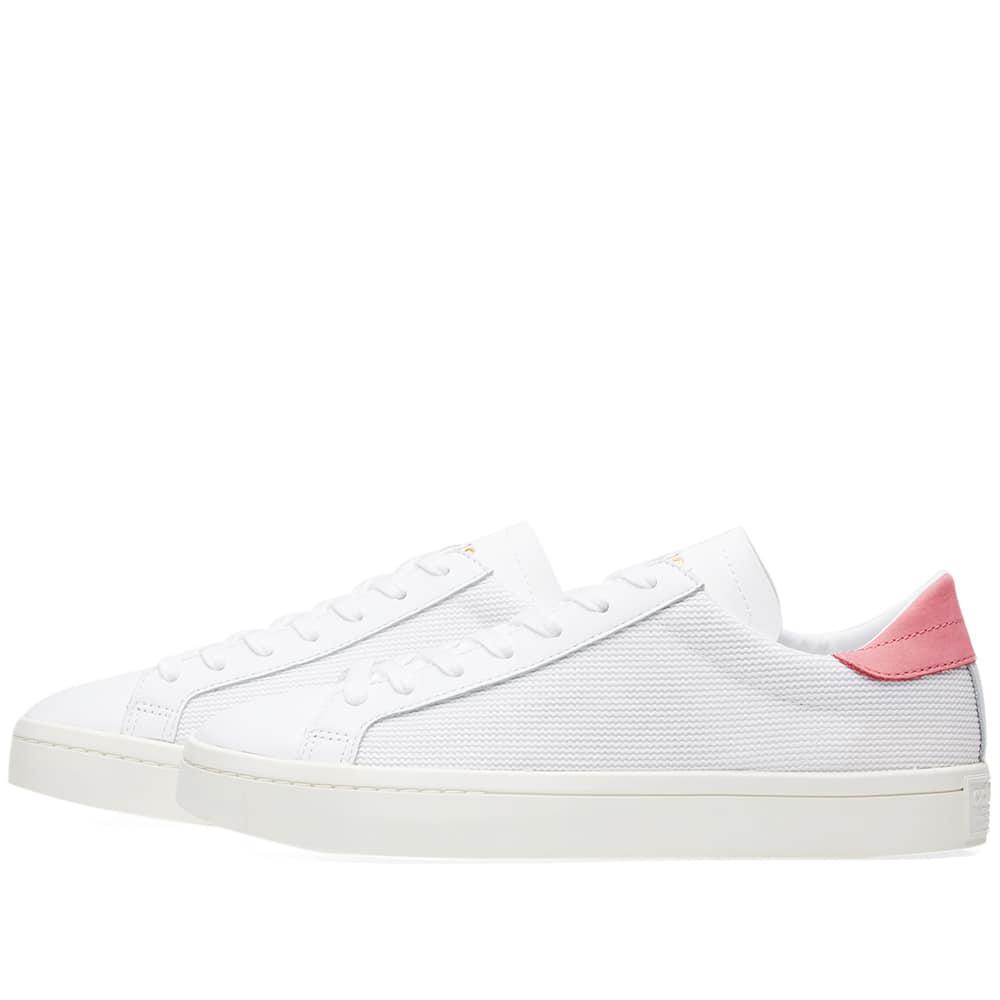 premium selection 8c473 08dfd ... Core Black Supplier Colour for Men - various styles Adidas - White Court  Vantage for Men - Lyst. View fullscreen ab501 80ae8 ...