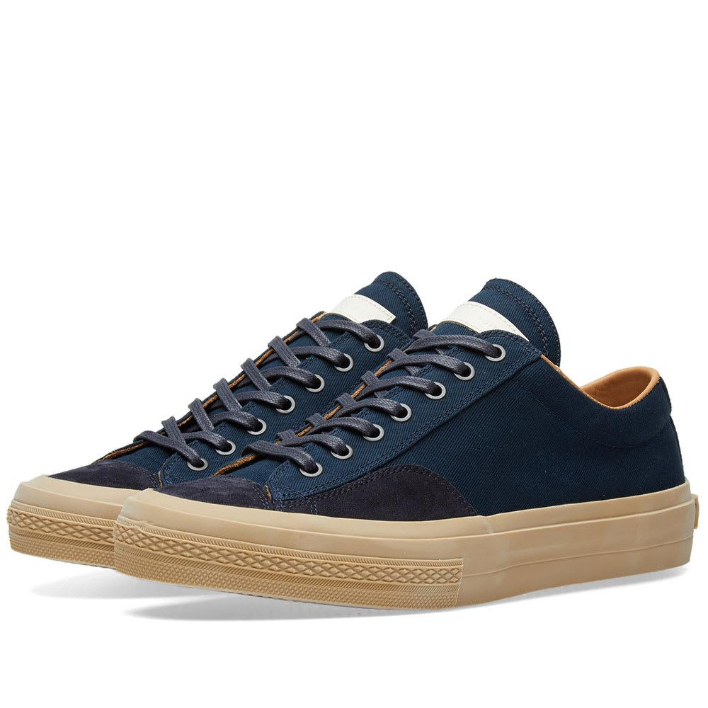 62f8dccba9 Dries Van Noten Leather Sneaker in Blue for Men - Lyst