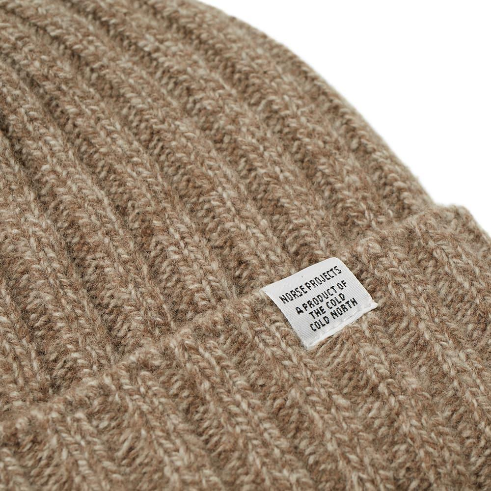 925d7c7fd05 Norse Projects - Brown Wide Rib Beanie for Men - Lyst. View fullscreen
