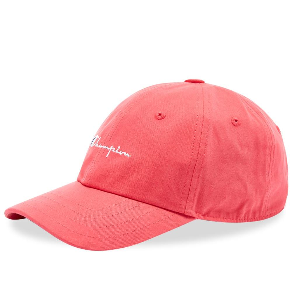 f1f118465d8a7 Lyst - Champion Script Logo Cap in Pink for Men - Save 2%