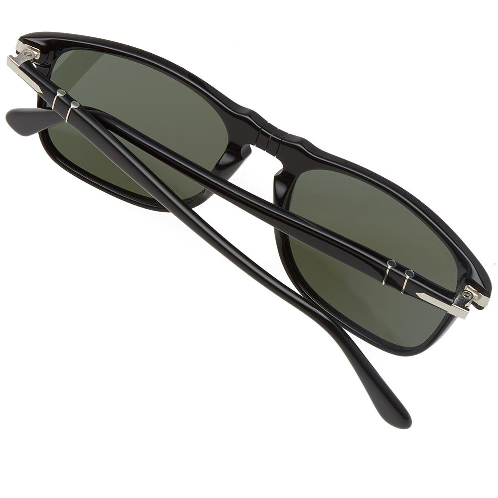 9beed5678364 Persol 3059s Square Framed Aviator Sunglasses in Black for Men - Lyst
