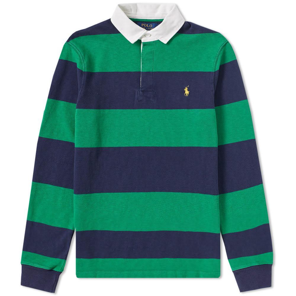 Lyst Polo Ralph Lauren Stripe Rugby Shirt For Men