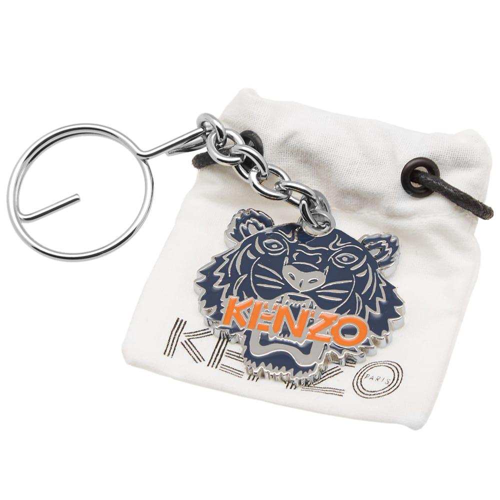 c916d63e KENZO Tiger Key Chain in Blue - Lyst