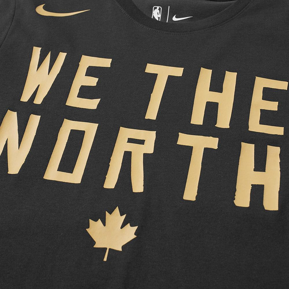 8ebc4543252 Nike Toronto Raptors City Edition Tee in Black for Men - Lyst