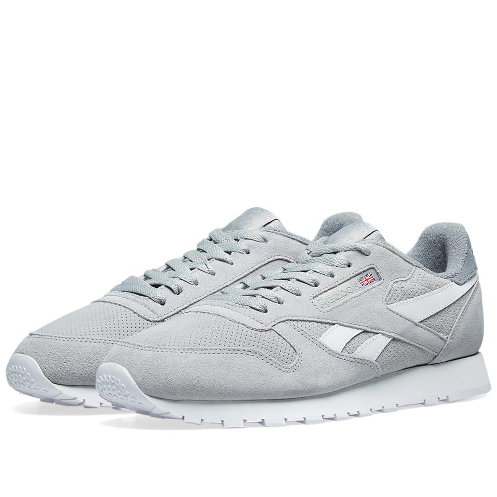 dd58034ee01 Reebok Classic Leather Suede in Gray for Men - Lyst