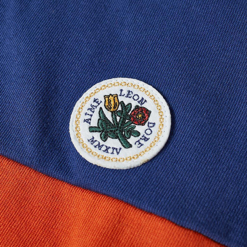 dd8d1c346b8c3 Lyst - Aimé Leon Dore Twill-trimmed Striped Cotton-jersey Polo Shirt ...