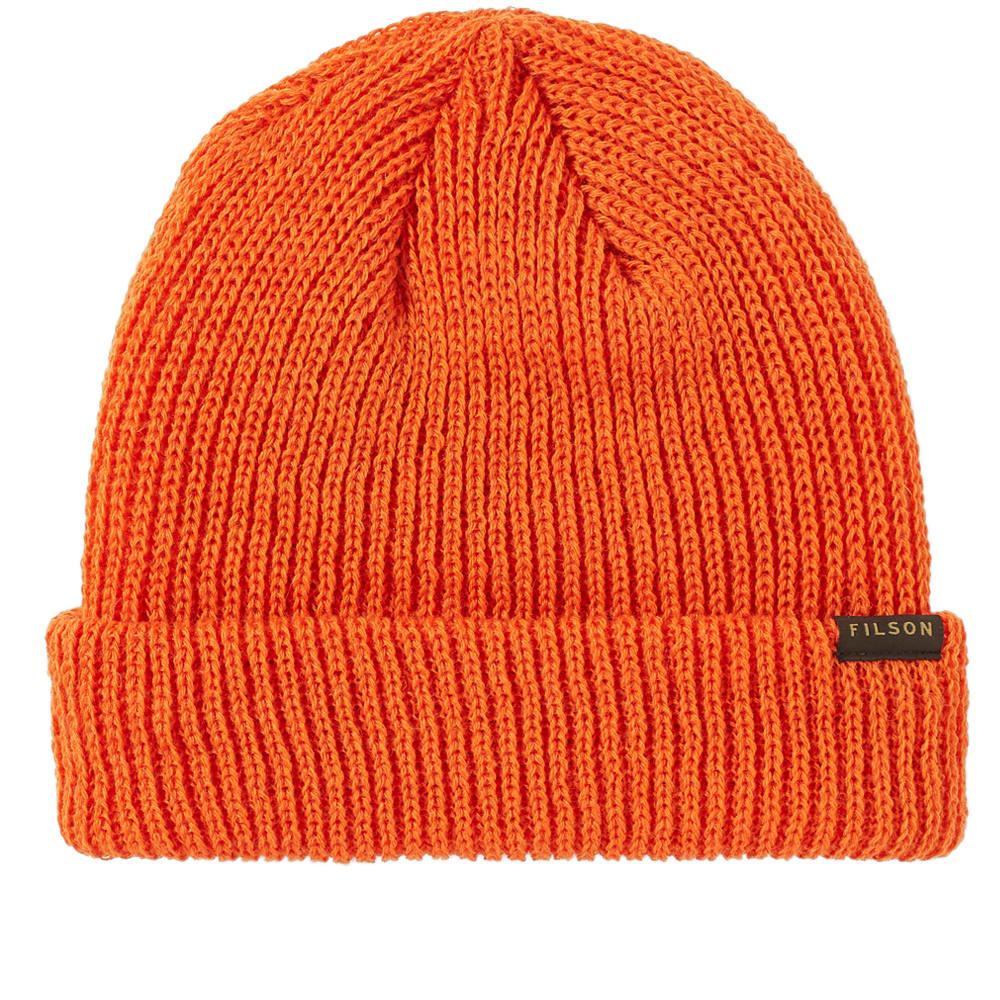 3e02eddce85 Filson - Orange Watch Cap for Men - Lyst. View fullscreen