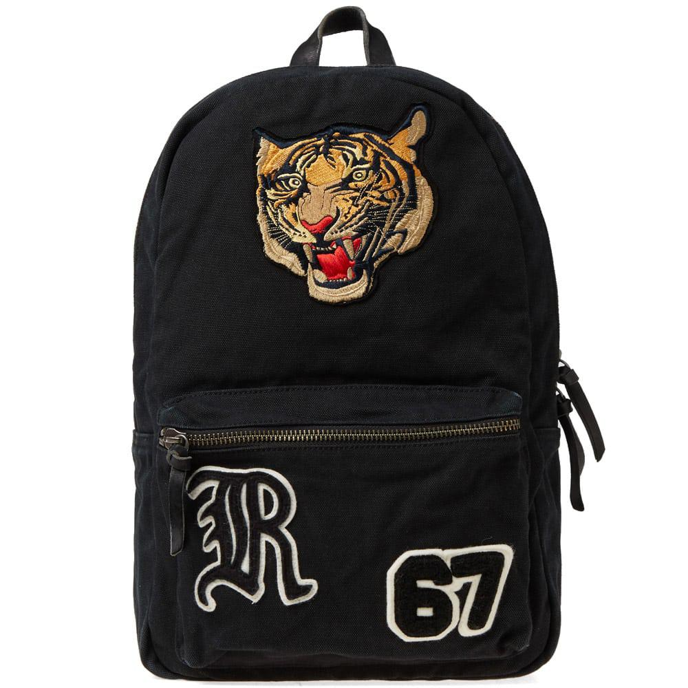 Lyst - Polo Ralph Lauren Tiger Embroidered Backpack in Black for Men 18c6ccb5764