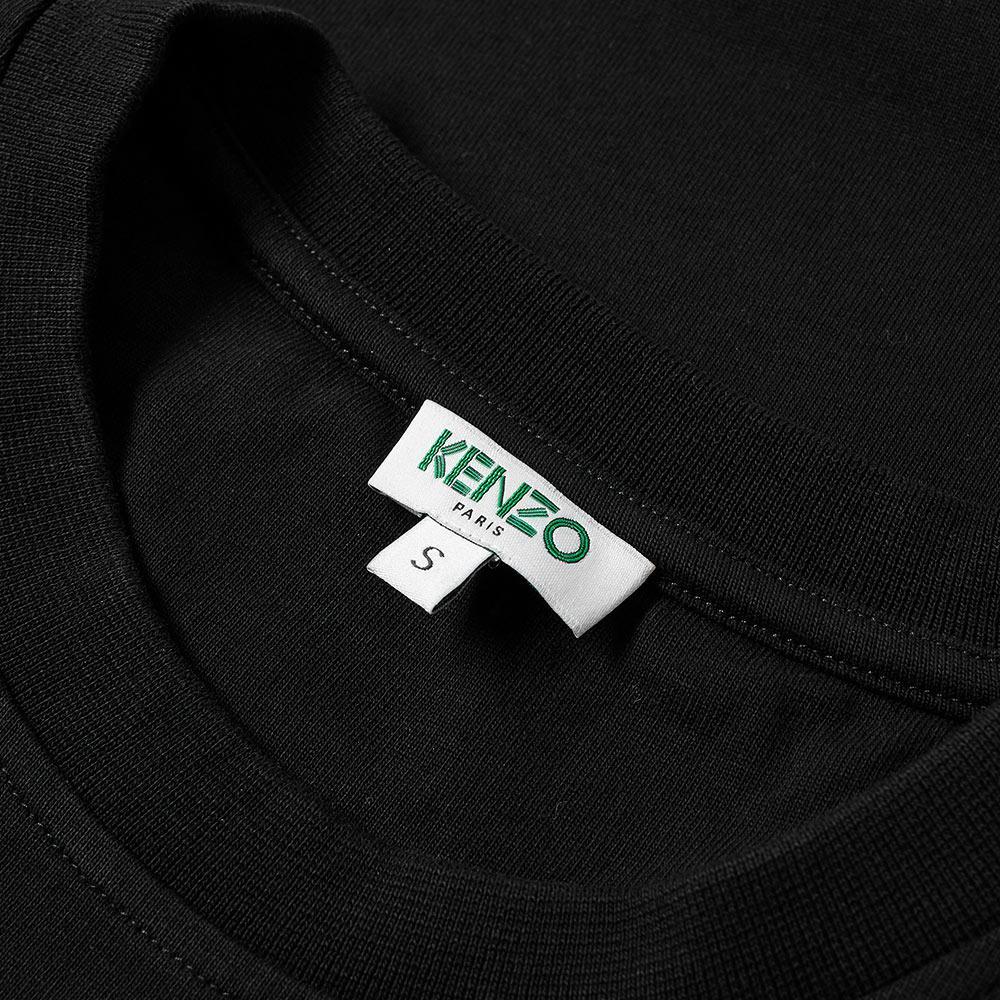 bbab1980 KENZO Long Sleeve Arm Logo Tee in Black for Men - Lyst