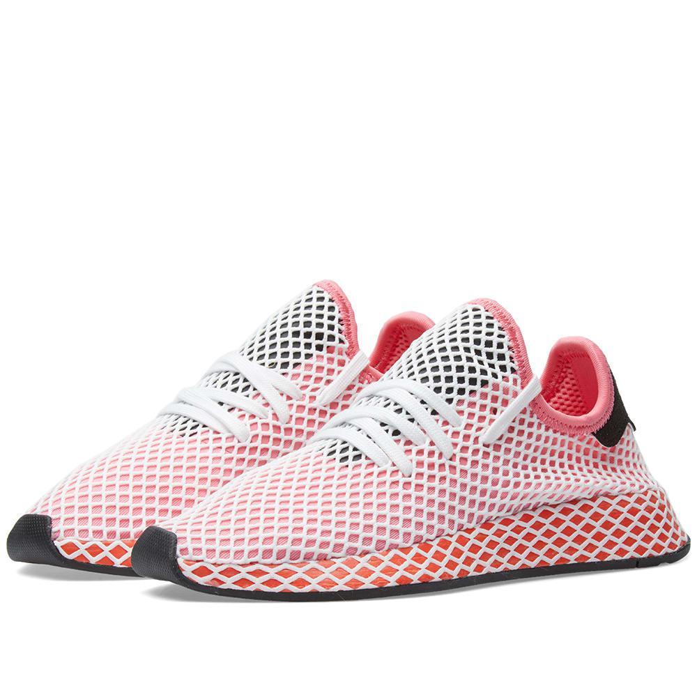 lyst adidas deerupt runner w in rosa salva 7%