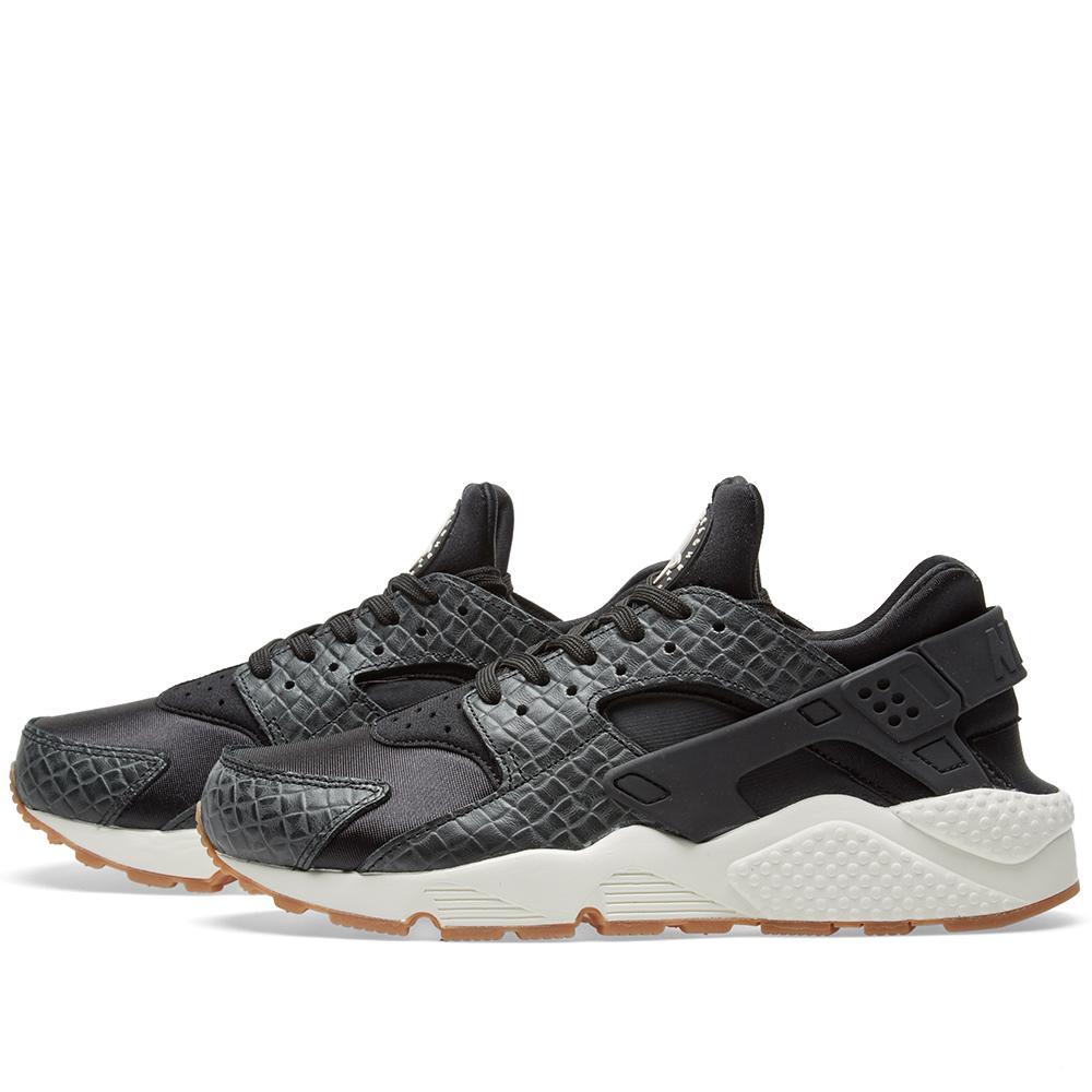 b9df60aea6 Nike W Air Huarache Run Premium in Black for Men - Lyst