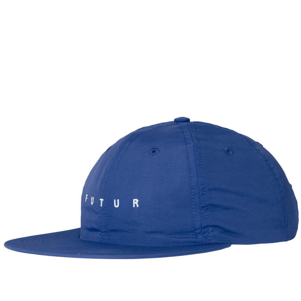 c4ca52ba02bc Futur Nylon Logo Cap in Blue for Men - Lyst