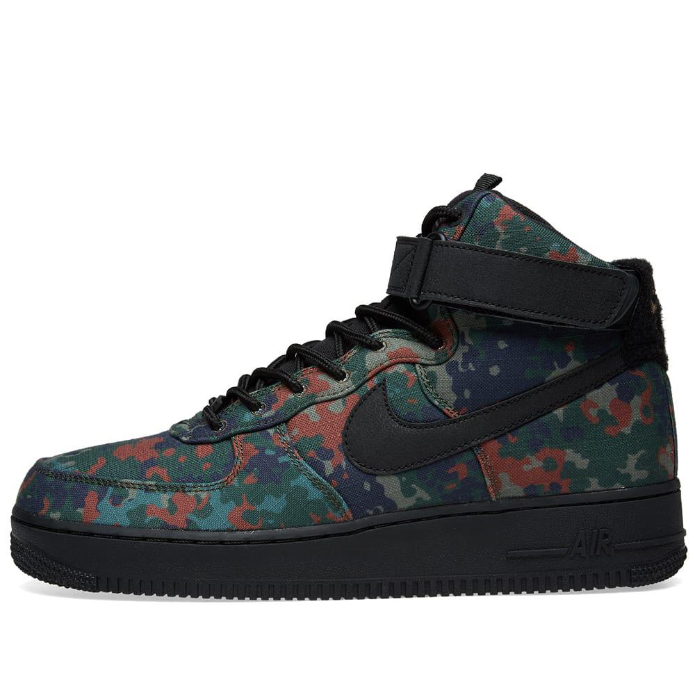 5d1b0bb13f75 Lyst - Nike Air Force 1 High  07 Lv8  camo Pack  Germany in Black ...