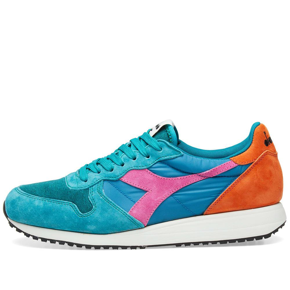 Lyst - Diadora Tornado Mii Blue Avalanche - Made In Italy in Green ... 2d263ab4375