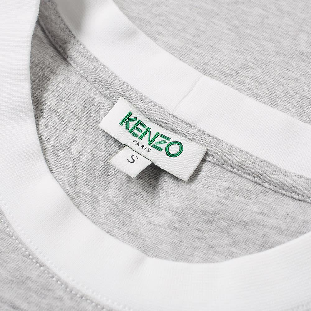 0e57b9cc Lyst - KENZO Distorted Logo Tee in Gray for Men