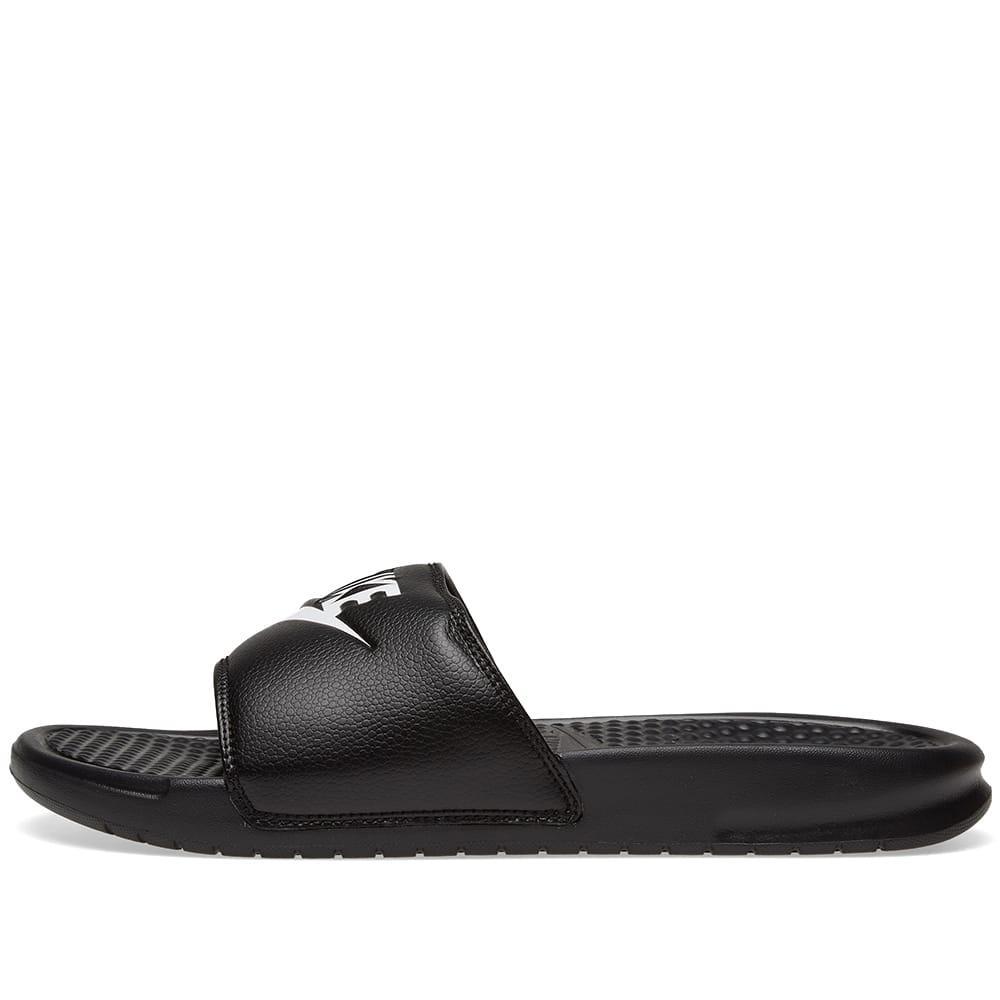 b7a286890d53a5 Nike - Black Benassi Jdi Slider Flip Flops 343880-090 for Men - Lyst. View  fullscreen