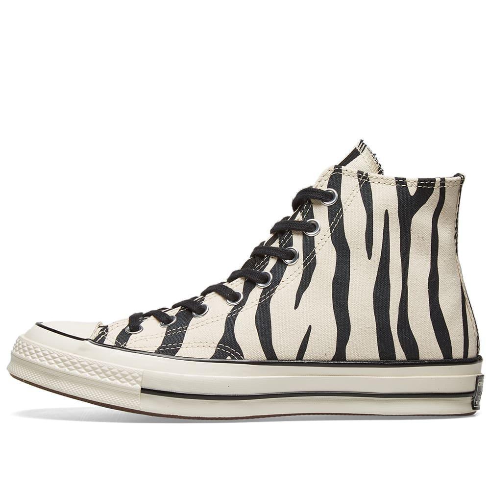 3d1fc0662134 Converse - White Chuck Taylor 1970s Hi Zebra Canvas for Men - Lyst. View  fullscreen