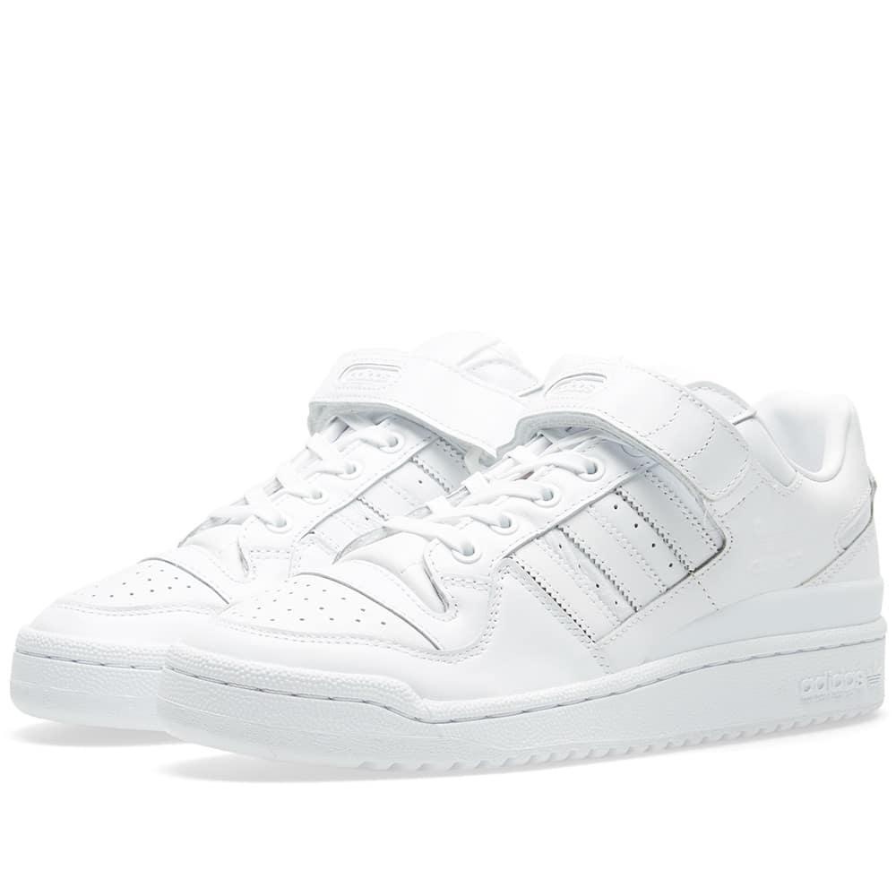 big sale 217fc 5c024 Lyst - adidas Forum Lo Refined in White