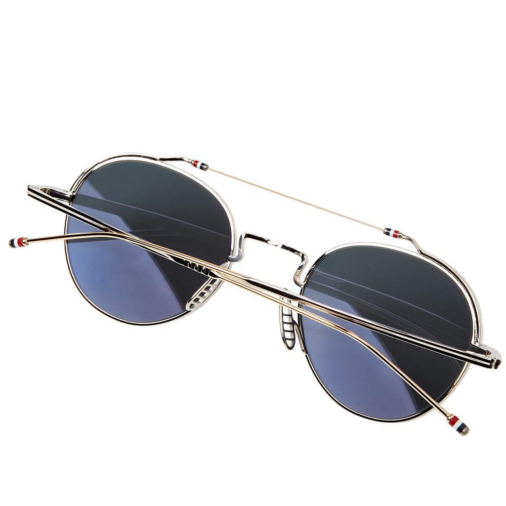 341e128ee746 Thom Browne Tb-912 Sunglasses in Metallic for Men - Lyst