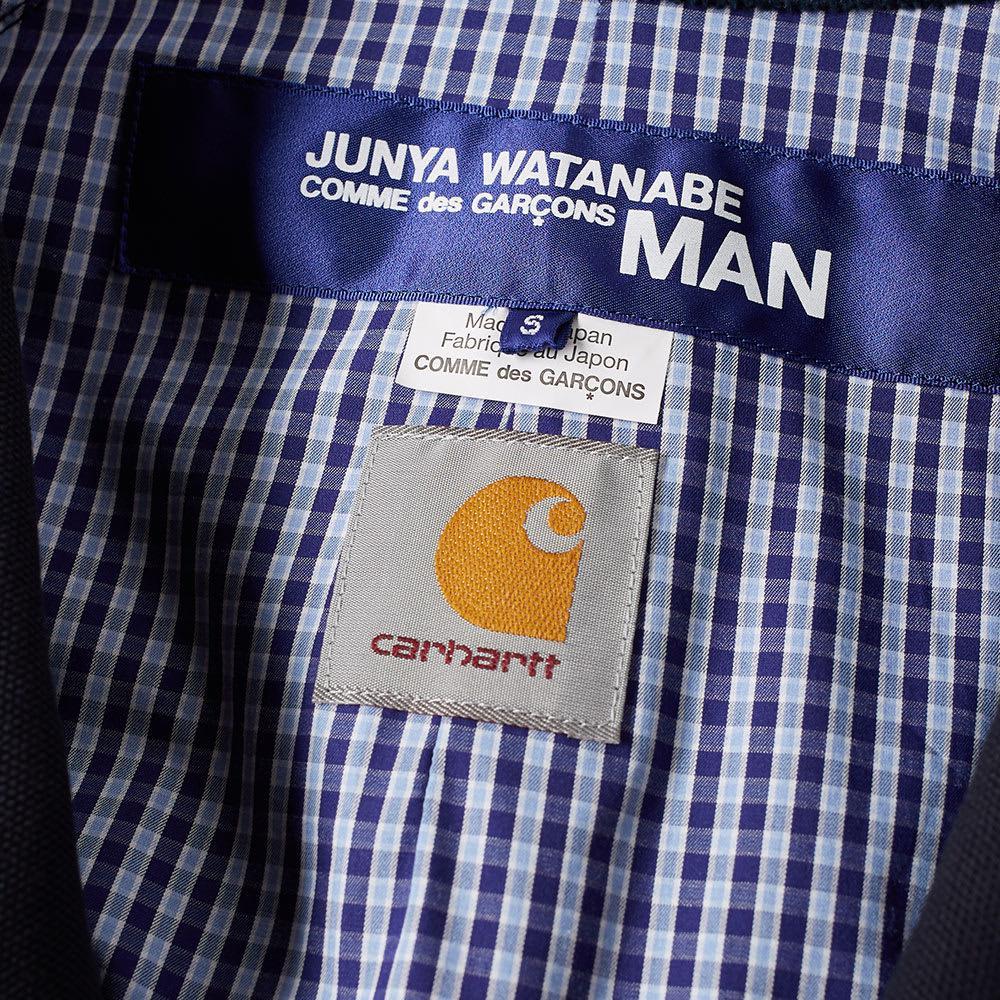 45f53dcd7fbd Lyst - Junya Watanabe X Carhartt Duck Harrington Jacket in Blue for Men