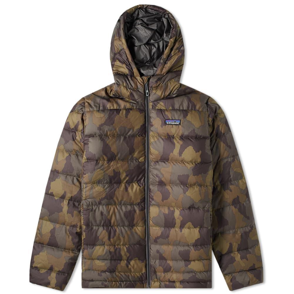 c310cd8ef4f29 Patagonia Hi-loft Down Sweater Hoody in Green for Men - Lyst