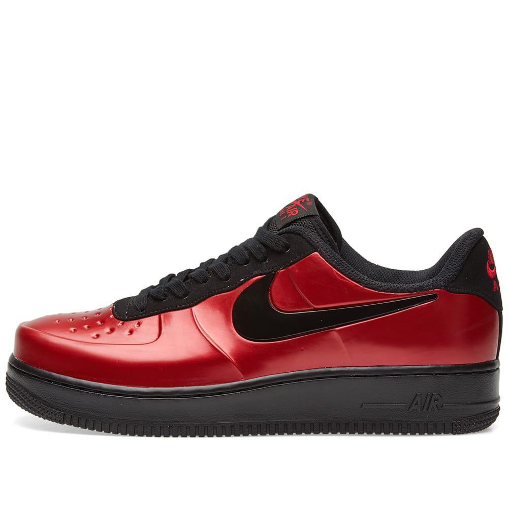 af2408c9ab363 Lyst - Nike Air Force 1 Foamposite Pro Cupsole in Red for Men