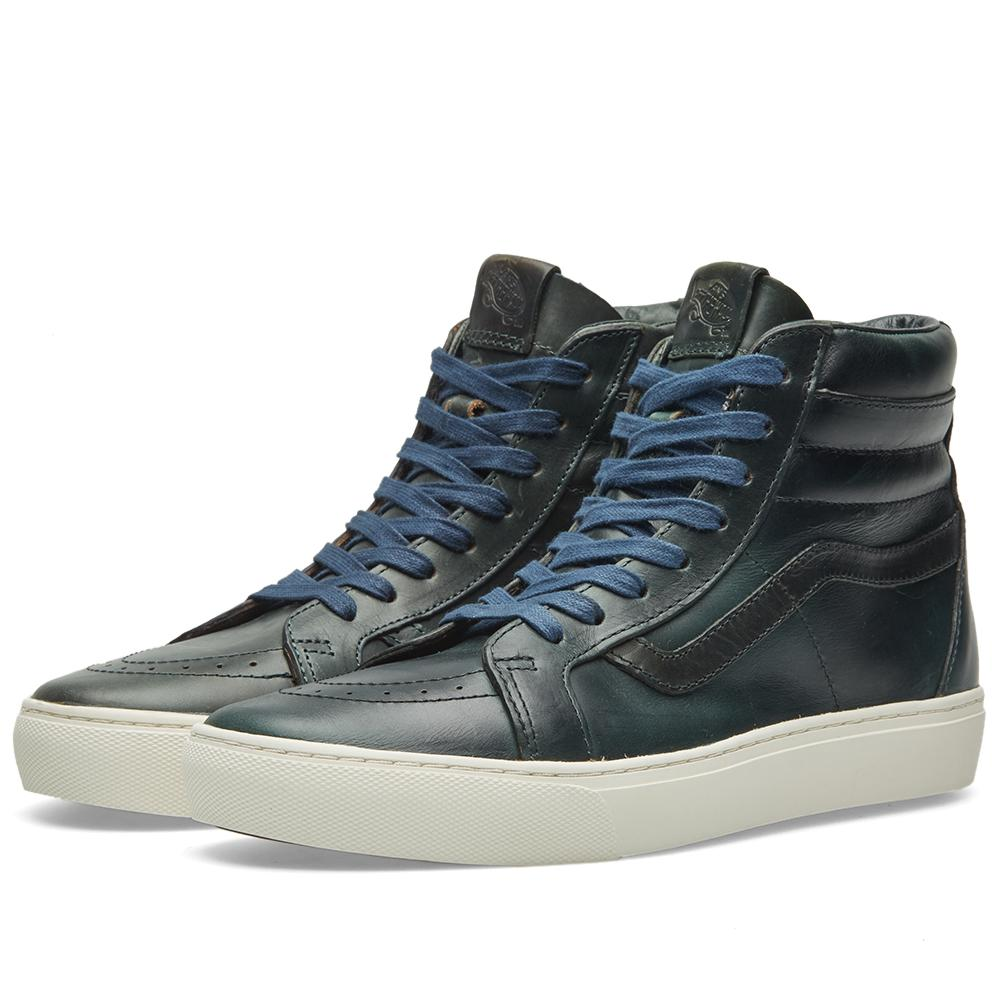 92a4b9e9dc Vans X Horween Leather Co. Sk8-hi Cup Lx in Blue for Men - Lyst