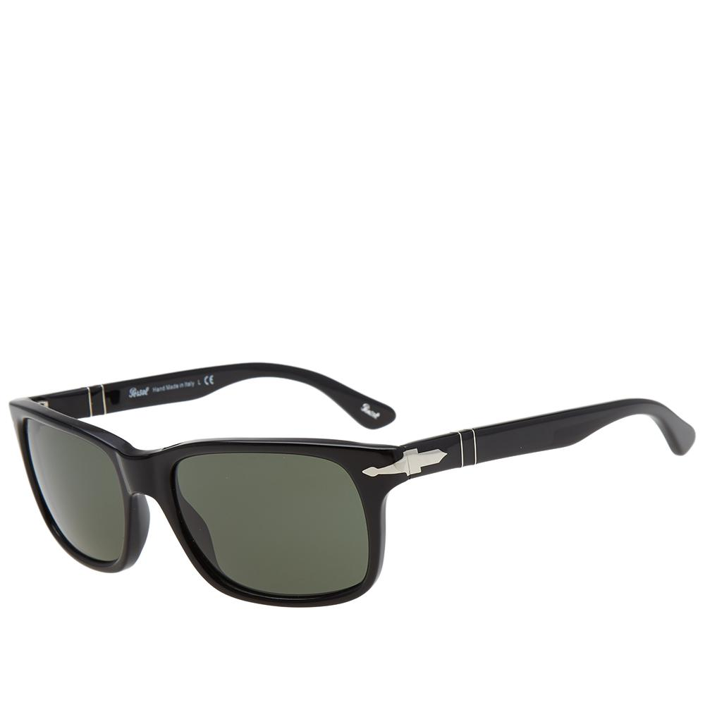 f27337fe0f Persol - Black 3048s Slim Aviator Sunglasses for Men - Lyst. View fullscreen